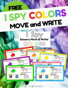 I spy colors virtual I spy game