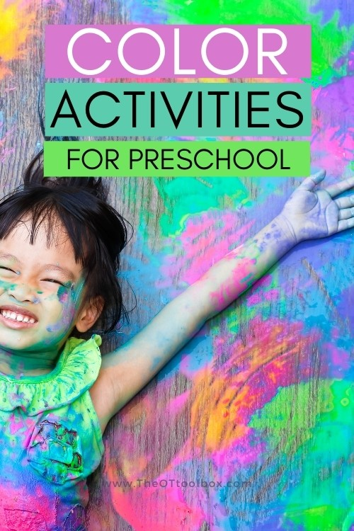 Teaching colors to preschoolers with multisensory learning activities