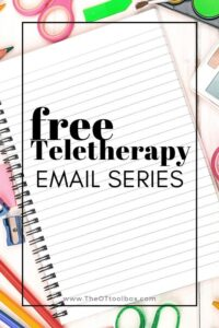 teletherapy for kids free email series