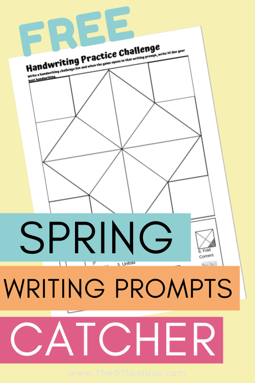 Spring Writing Prompt worksheets