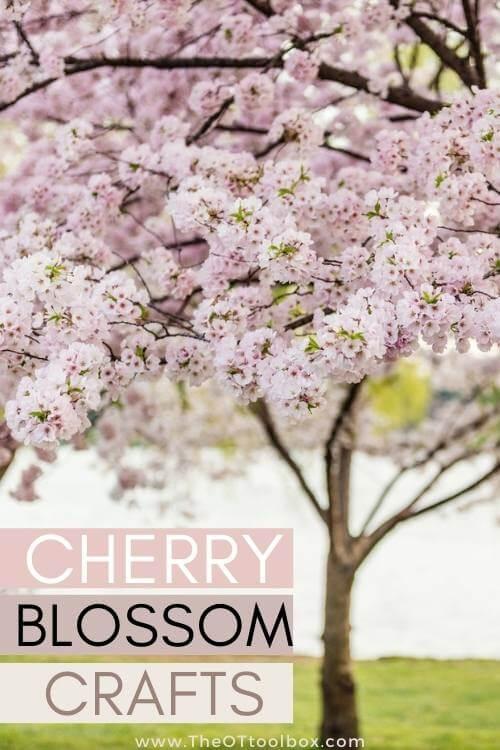 Cherry blossom crafts