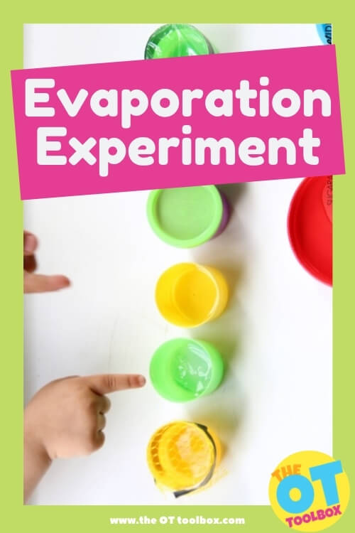 Evaporation experiment