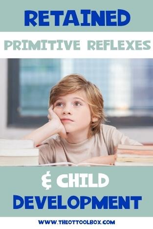 Retained primitive reflexes