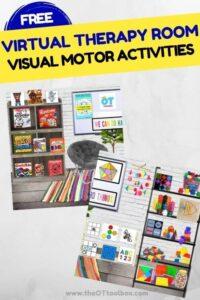 Visual Motor Skills Virtual Therapy Room