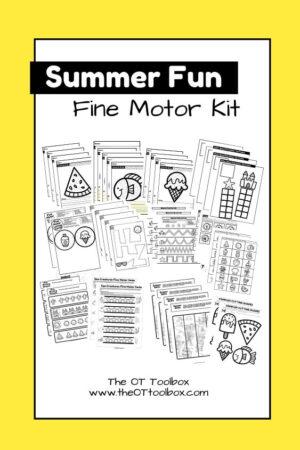 Summer fine motor kit
