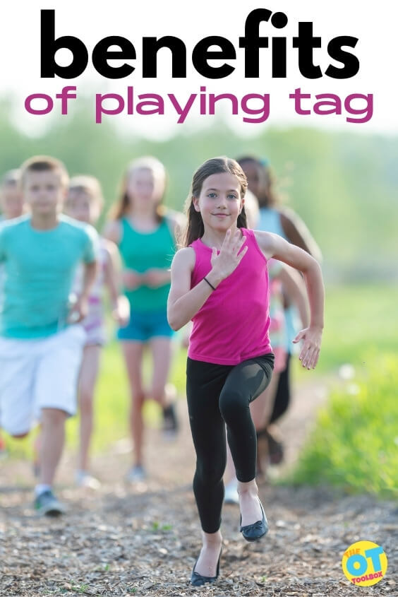 There are many therapeutic benefits of playing tag. Use these tag games in therapy or summer camps to help kids with child development and have fun too!