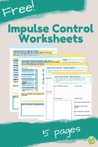 impulse control worksheets