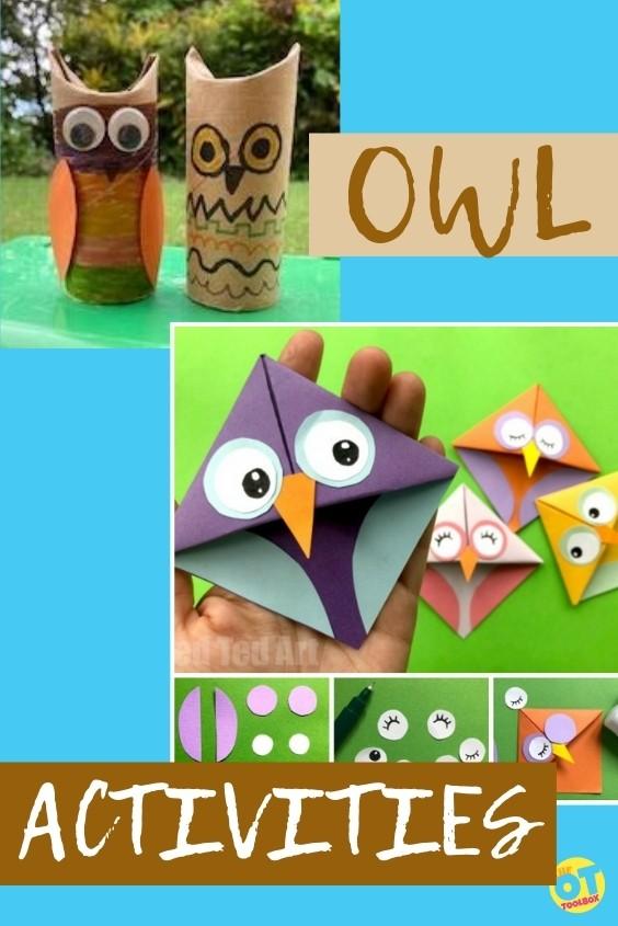 Owl activities for kids