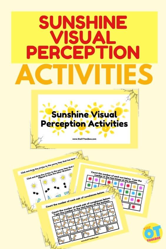 Sun visual perception activity and free slide deck