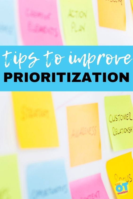 tips to improve prioritization