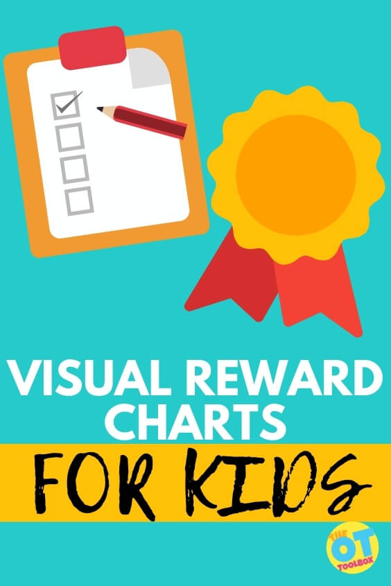 Visual reward chart ideas for visual schedules