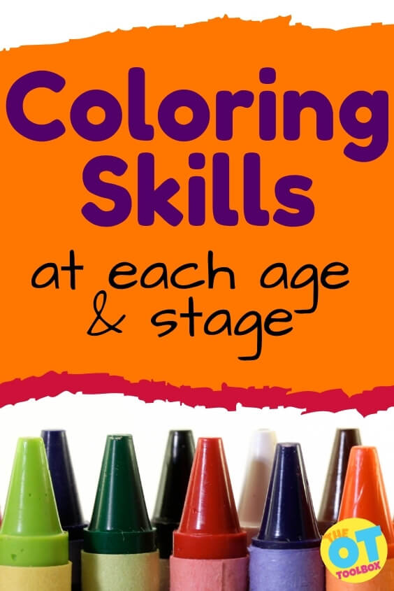 How to teach coloring skills at each age depends on child development. These tips for teaching kids to color can help.