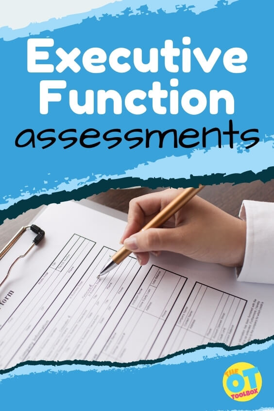 executive function tests