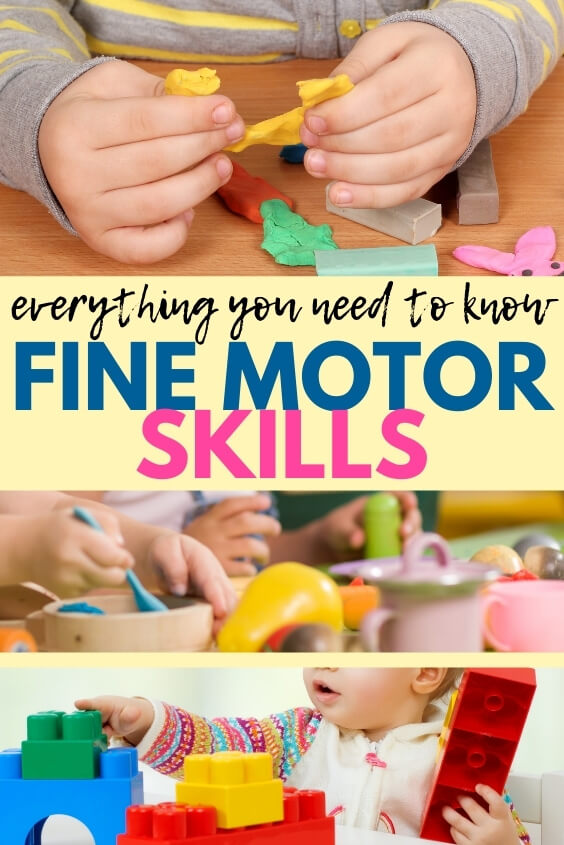 Fine motor skills and everything you need to know about fine motor development.