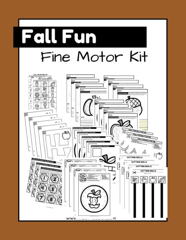 fall fine motor kit