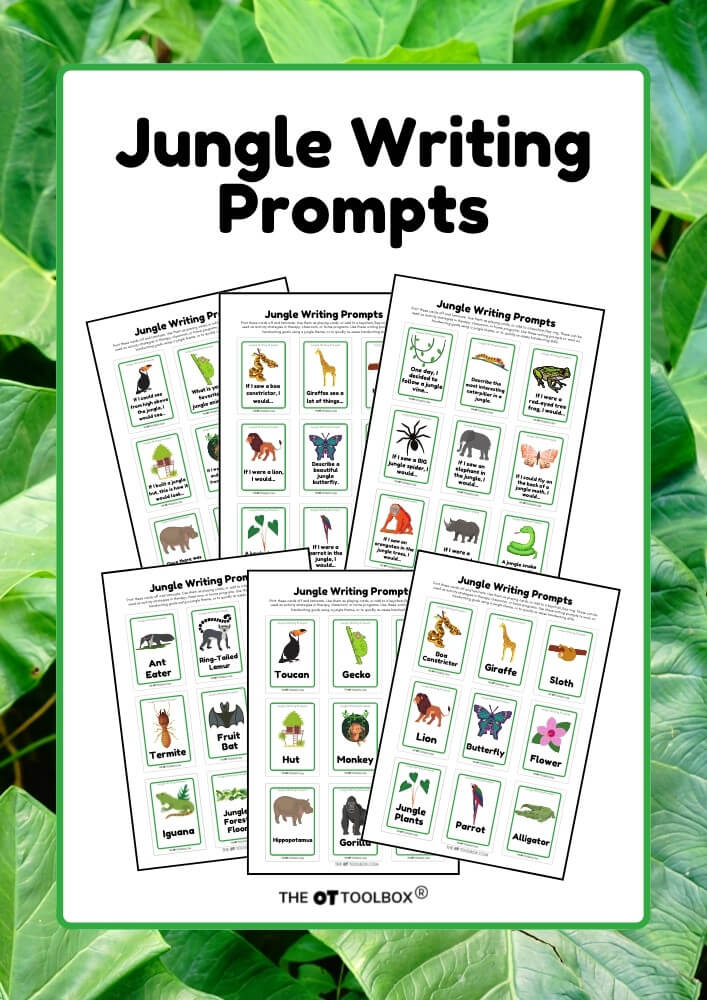 Jungle writing prompts