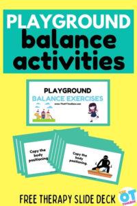 playground balance activities