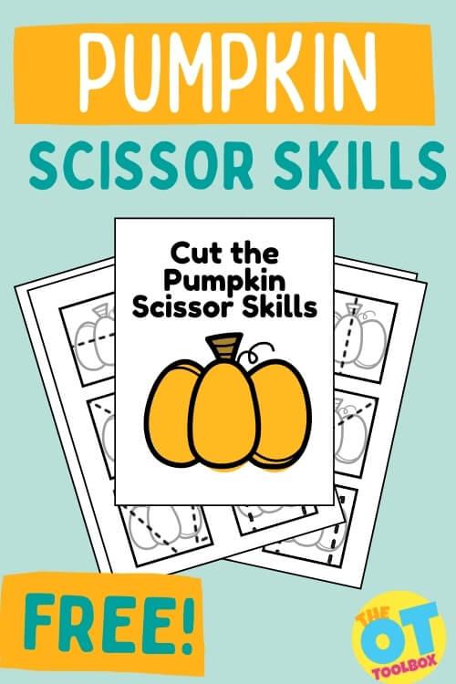 pumpkin cutting activities