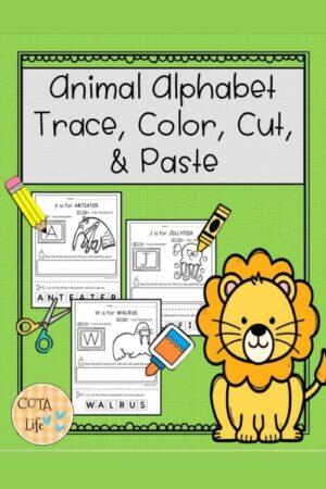 Alphabet Animal Workbook