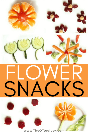 flower snacks