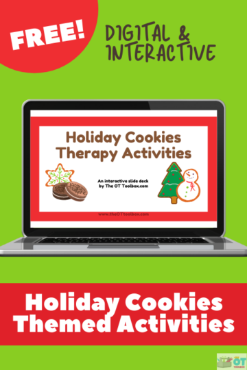 Cookies activities for occupational therapy intervention