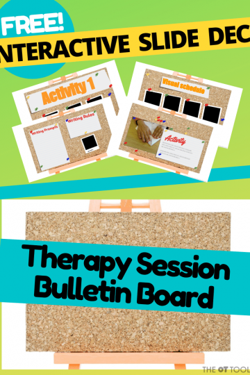 Therapy planning slide deck for OT teletherapy