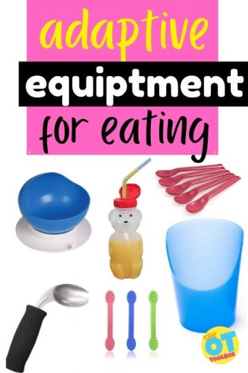 Adaptive equipment for eating