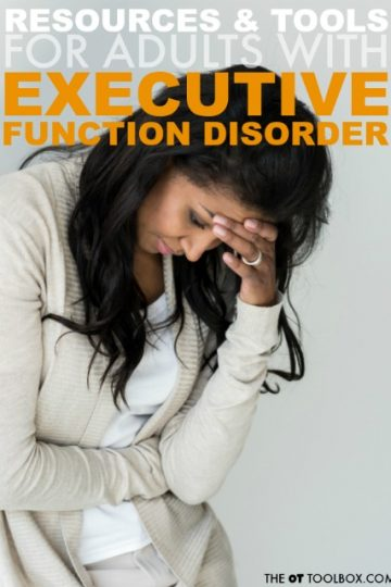 Resources for adults with executive function disorder