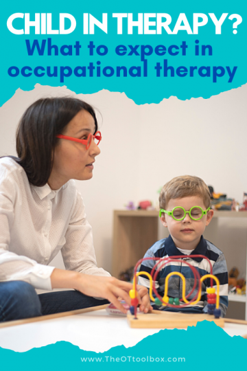 Have a child in therapy? This resource for parents of kids in occupational therapy is a great starting point for OT resources parents need.