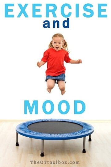 Exercise and mood in kids