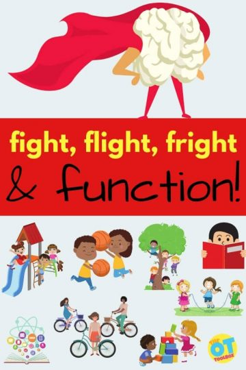 fight, flight, fright, and function based on the limbic system