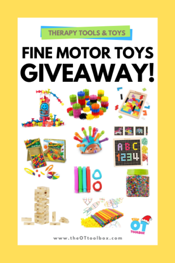 Use these fine motor toys to help kids build fine motor strength