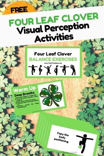 four leaf clover teletherapy exercises