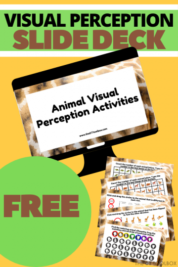 This free slide deck is an animal visual perception activity