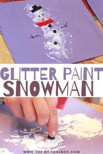 glitter-paint-snowman