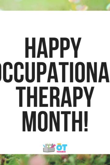 Happy OT month