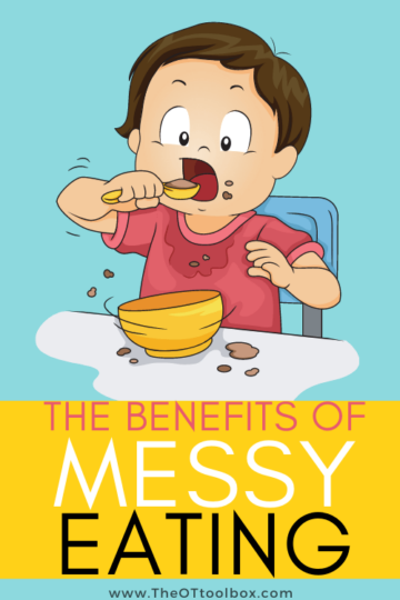 Benefits of Messy eating for babies and toddlers