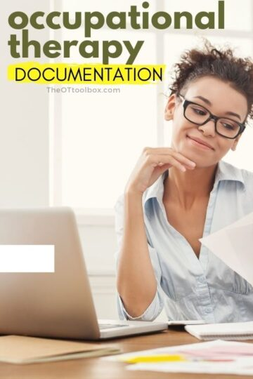 occupational therapy documentation