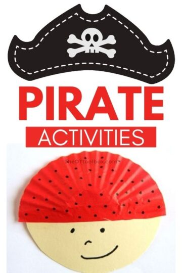 Pirate activities for teletherapy