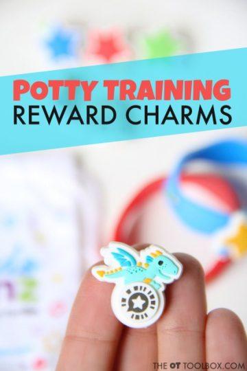 Potty training reward incentive with Kudos Banz