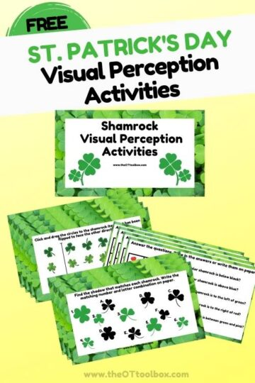 Shamrock theme visual perception