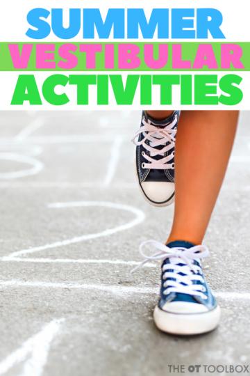 outdoor sensory activities using the vestibular sense