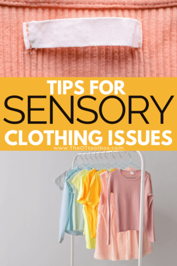 Tips for children with clothing sensory issues