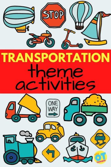 transportation theme activities