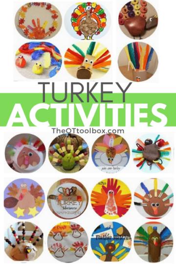 Turkey activities for children