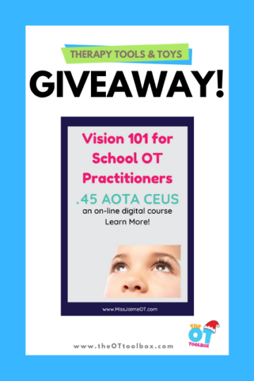 Vision 101 course for occupational therapists