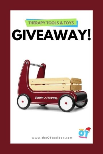 Radio Flyer Wooden Walker Wagon Toy